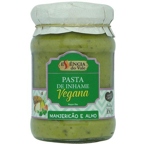 Pasta de Inhame Manjericão e Alho Vegana 160g