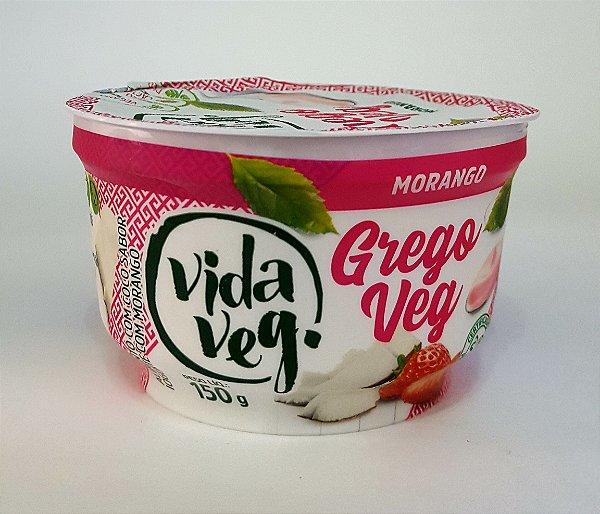 Iogurte Grego Vegano de Coco com Morango 150g