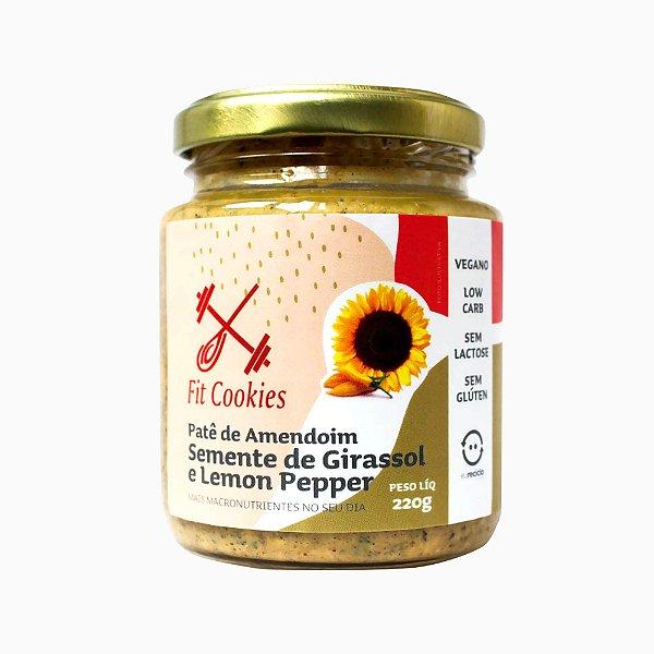 Patê de Amendoim Semente de Girassol e Lemon Pepper 220g