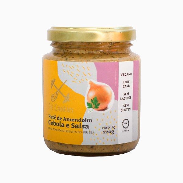 Patê de Amendoim Cebola e Salsa 220g