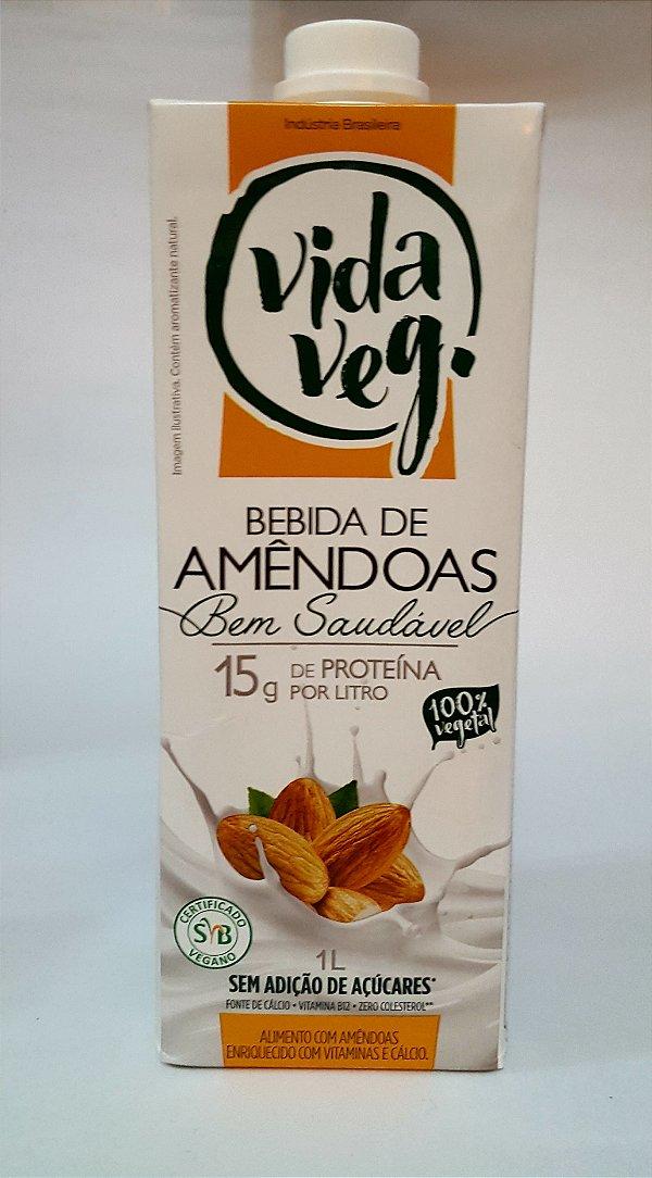 Bebida Vegetal de Amêndoas 1L
