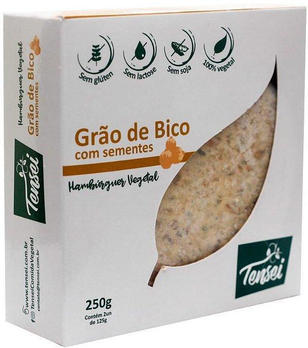 Hambúrguer Vegano de Grão de Bico com Sementes 250g Tensei