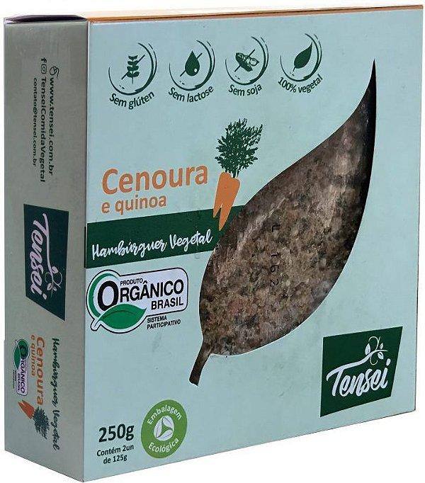 Hambúrguer Vegano de Cenoura e Quinoa Orgânico 250g Tensei