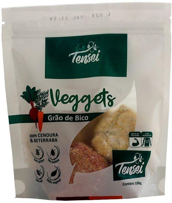 Veggets Vegano de Grão de Bico sabor Cenoura e Beterraba 180g Tensei
