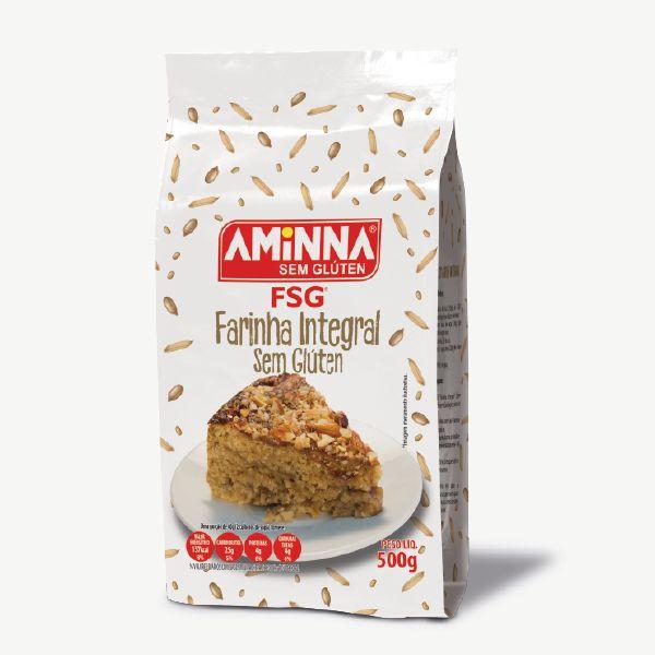 Farinha Sem Glúten Integral Aminna 500g
