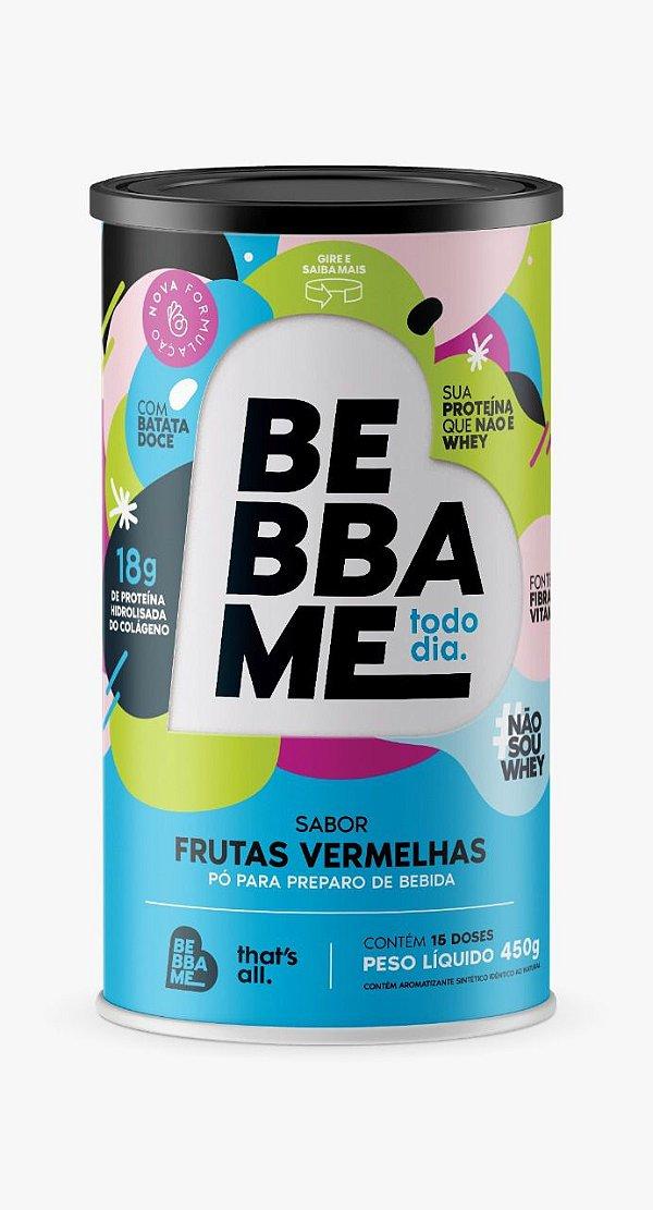 Lata Bebba Me Todo Dia Sabor Frutas Vermelhas- 450g
