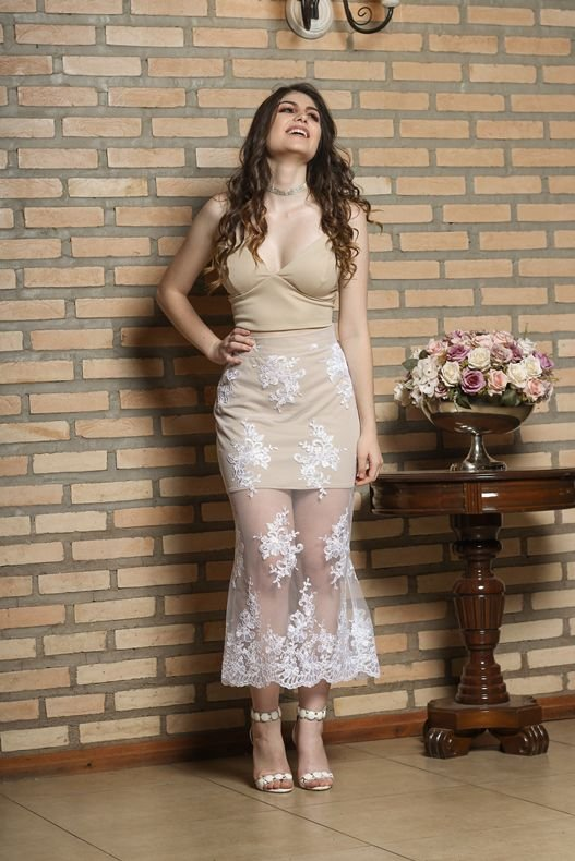 CONJUNTO NUDE MERMAID