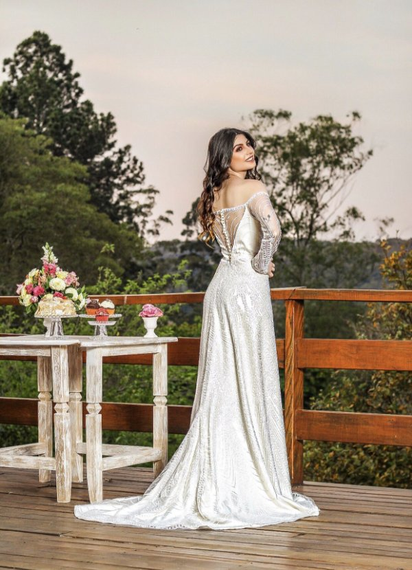 VESTIDO NOIVA ROYALS WEDDING