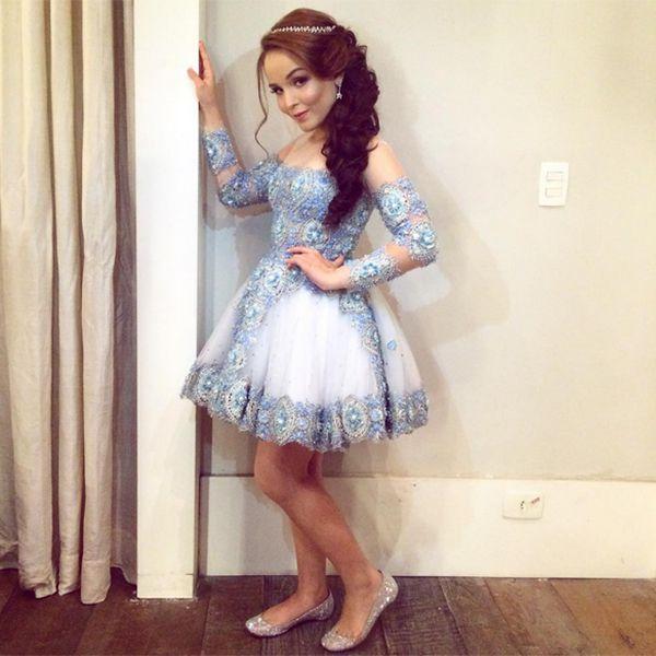 Vestido debutante Paola