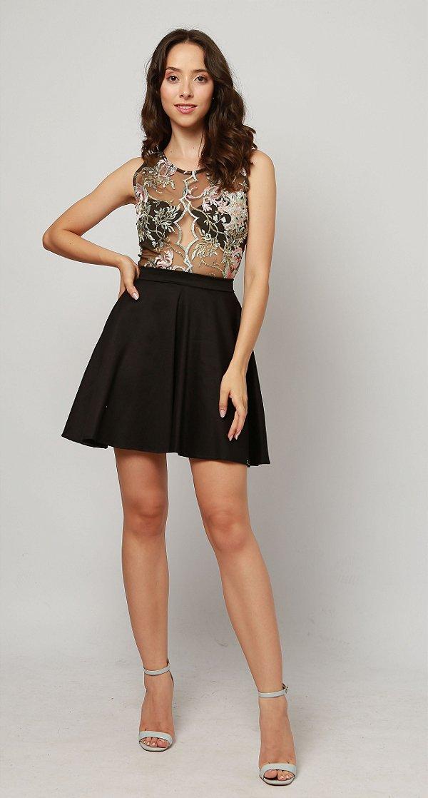 vestido lili transparente