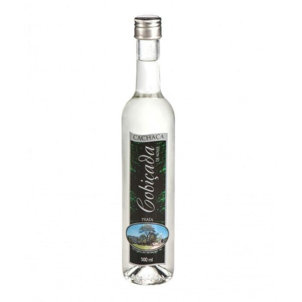 Cachaça Cobiçada Seduction 500ml Prata