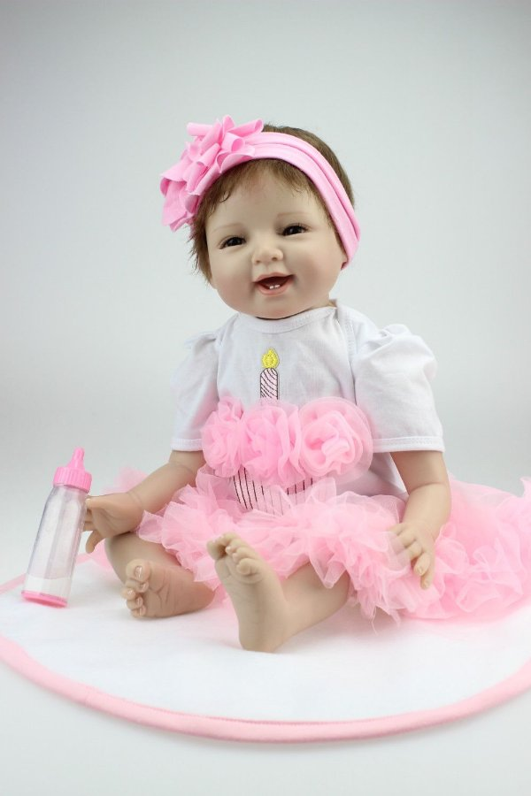 Bebe Reborn Princesinha Sorrindo