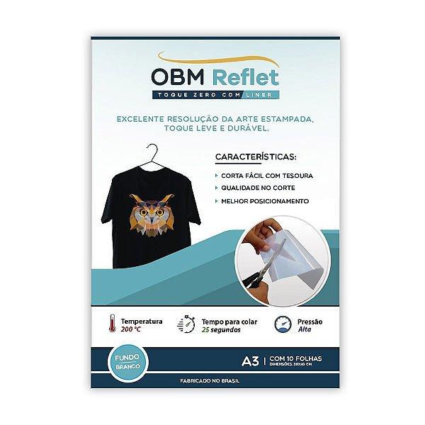 OBM Reflet – Toque zero com liner | A3 com 10 fls