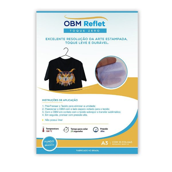OBM Reflet Toque Zero A3 c/ 10 fls