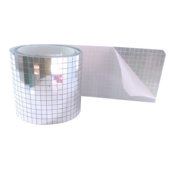 Fita espelhada Reflet com 1 metro | Autoadesiva
