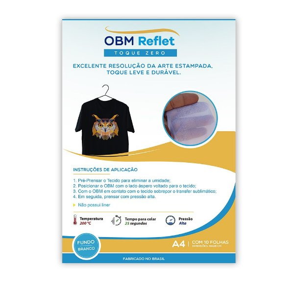 OBM Reflet Toque Zero A4 c/ 100 fls