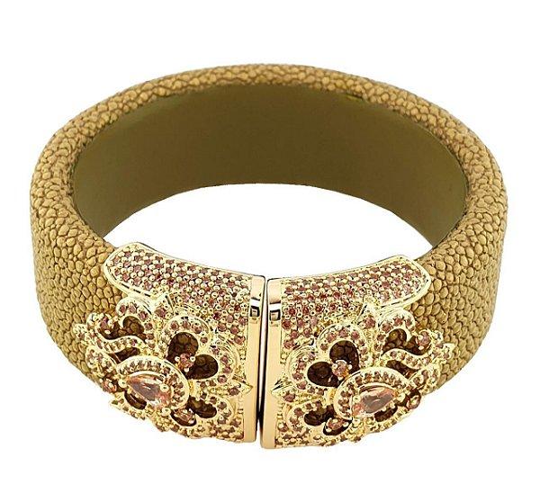 Bracelete Galucha Dourada