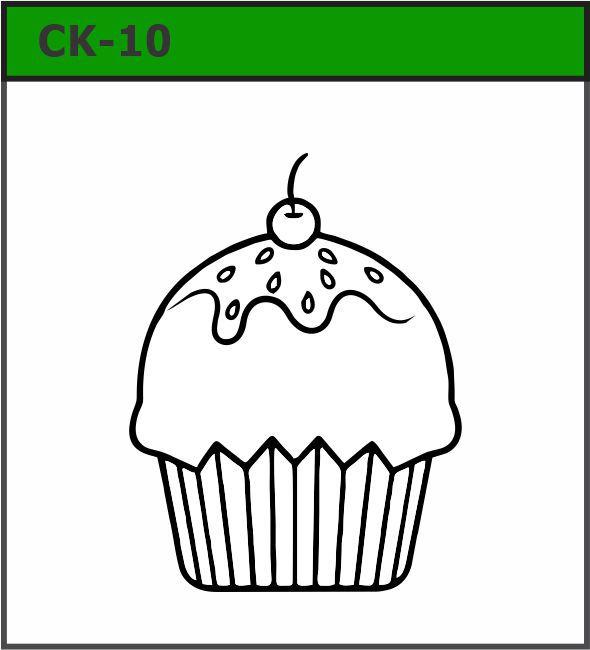 Carimbos coleção Cupcake 2