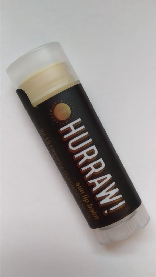 Protetor labial com filtro solar FPS 15!