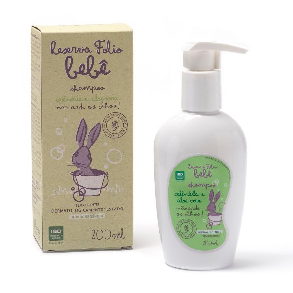 Shampoo Calêndula e Aloe Vera 200 ml