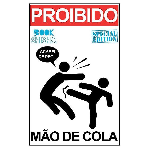 PLACA DECORATIVA MÃO DE COLA