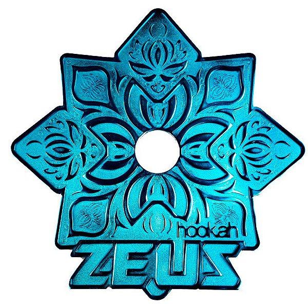 PRATO GRANDE ZEUS ELEMENTAL AZUL - HOOKAH ZEUS