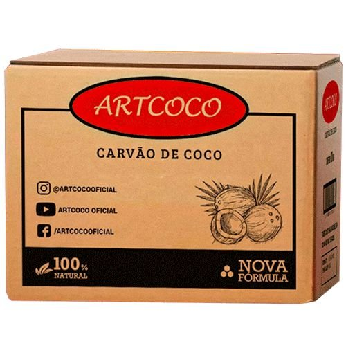 CARVÃO 10KG Á GRANEL - ART COCO