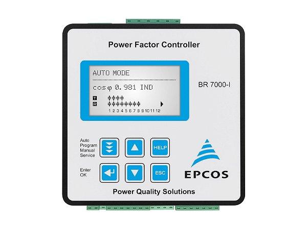 Controlador BR7000-R15 - Trifásico - Alimentação 220V RS485 Modbus - 15 Estágios