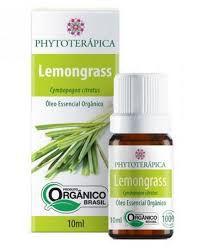 Óleo Essencial de Lemongrass Orgânico - 10ml