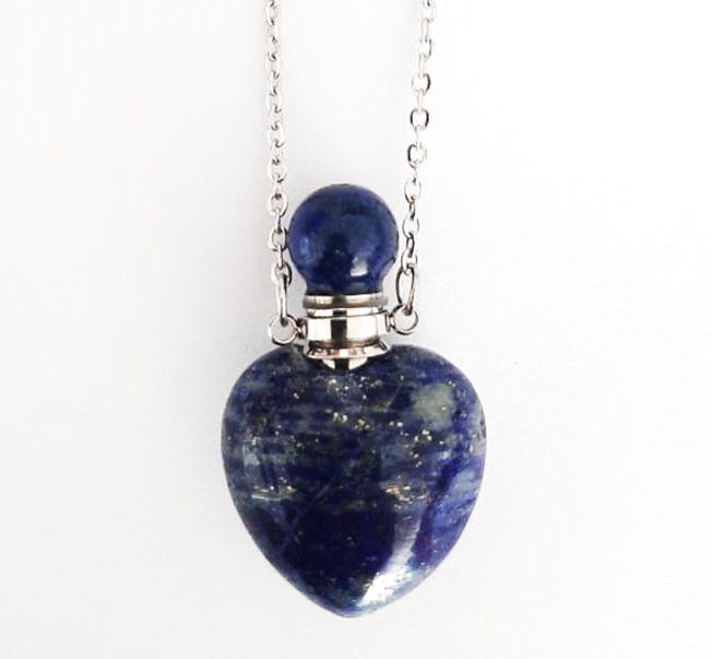 Colar Difusor Pessoal de Pedras Naturais - Lápis Lázuli