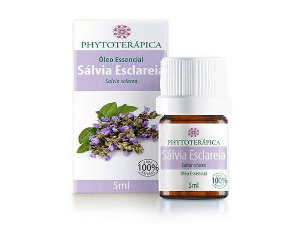 Óleo Essencial de Sálvia Esclareia - 5ml