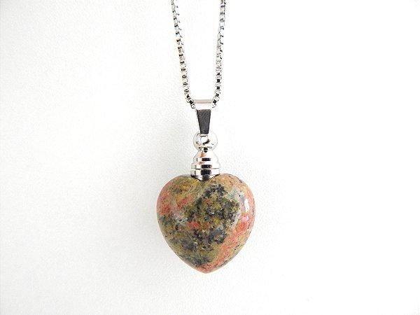 Colar Perfumeiro de Pedra Natural - Unaquita