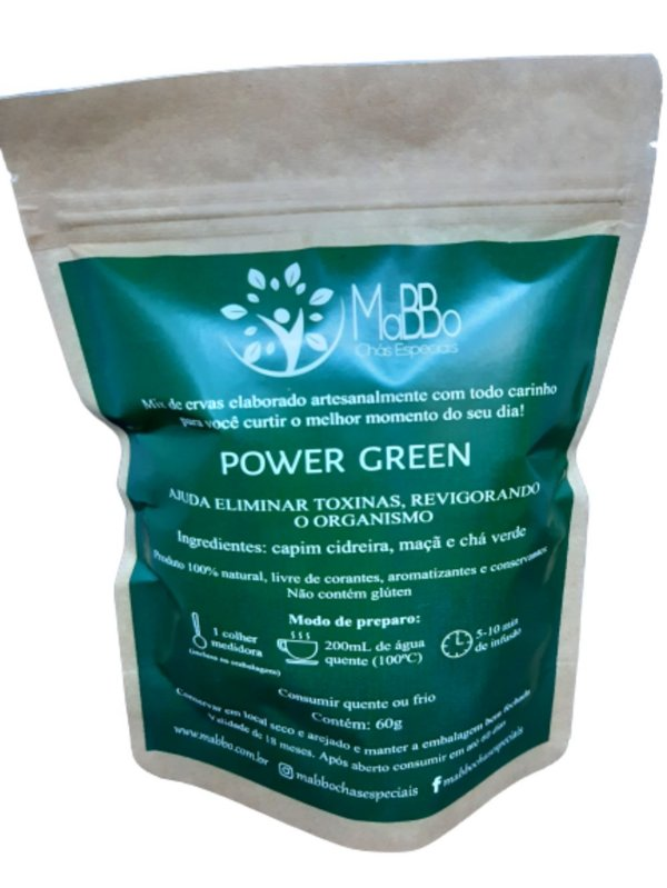 Chá Power Green