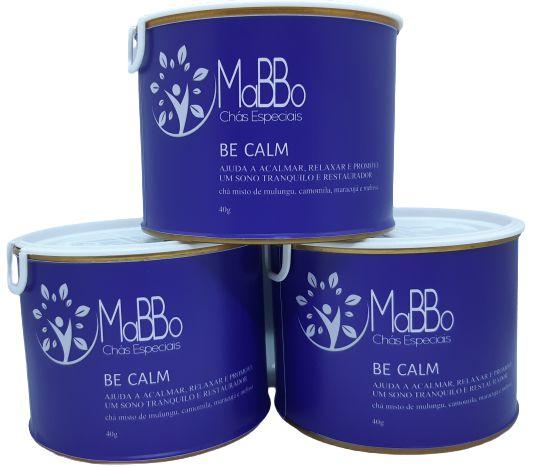 Chá Be Calm lata