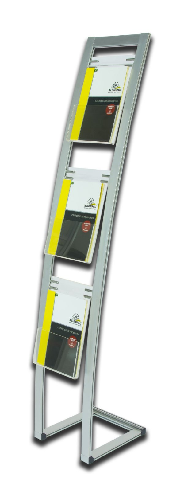 Porta Folder Pés Abertos