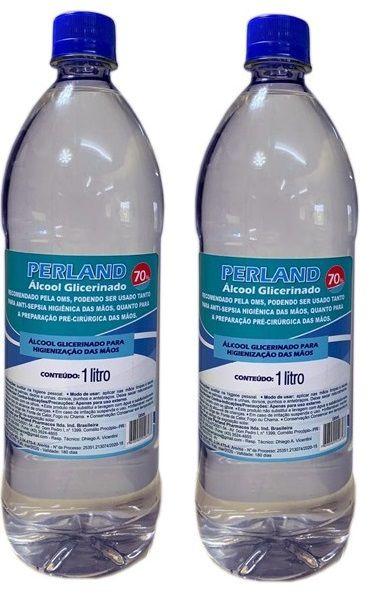 Álcool Gel 70% Glicerinado 2 Litros