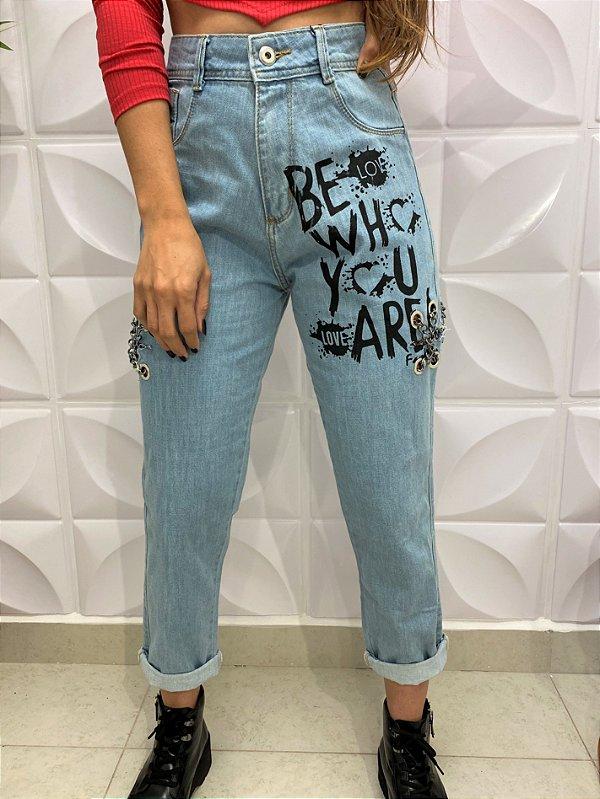 Calça Jeans Corrente Be Love