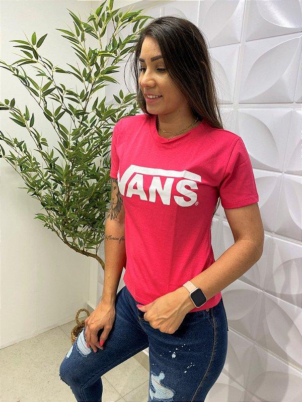T-shirt Vans Pink