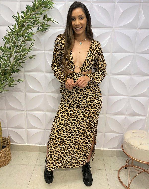 Vestido Viscose Paula Onça