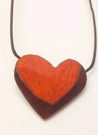 Colar aromático Coração