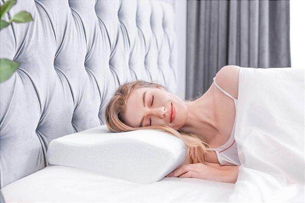Travesseiro Ortopédico Cervical Original Sleep Well M e G