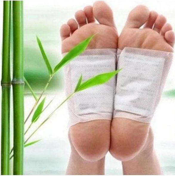 Adesivos  De Desintoxicação Natural 20PCS - Foot Patch - Frete Grátis
