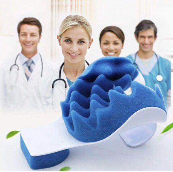 Massageador Ortopédico Cervical - Para Dor e Tensão no Pescoço - Frete Grátis