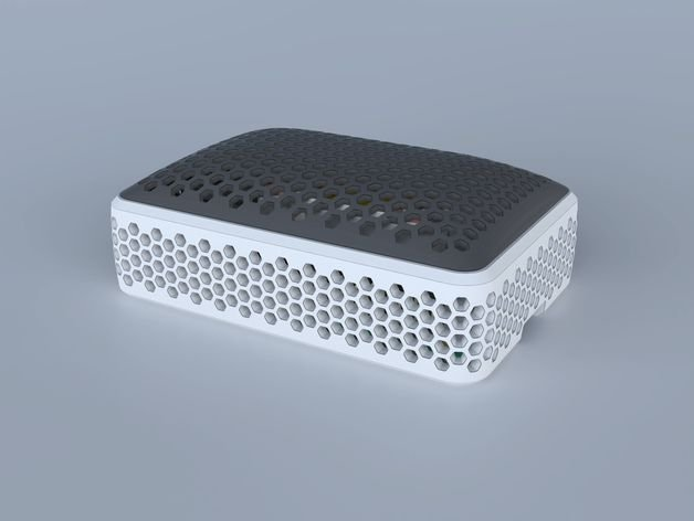 Case Raspberry Pi 4 Colmeia