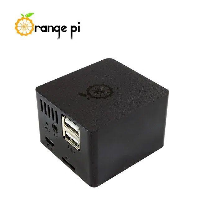 Kit Orange Pi Zero 512 + Placa De Expansão E Case Oficial