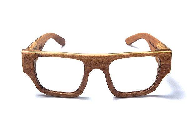 Armação de Óculos de Grau de Madeira Leaf Eco Cali