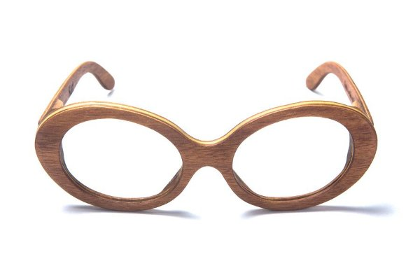 Armação de Óculos de Grau de Madeira Leaf Eco Kurt