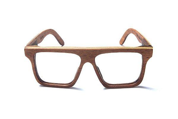 Armação de Óculos de Grau de Madeira Leaf Eco Sanchez