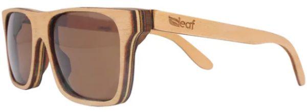 Óculos de Sol de Madeira Leaf Eco Beagle Maple