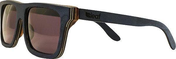 Óculos de Sol de Madeira Leaf Eco Beagle Preto